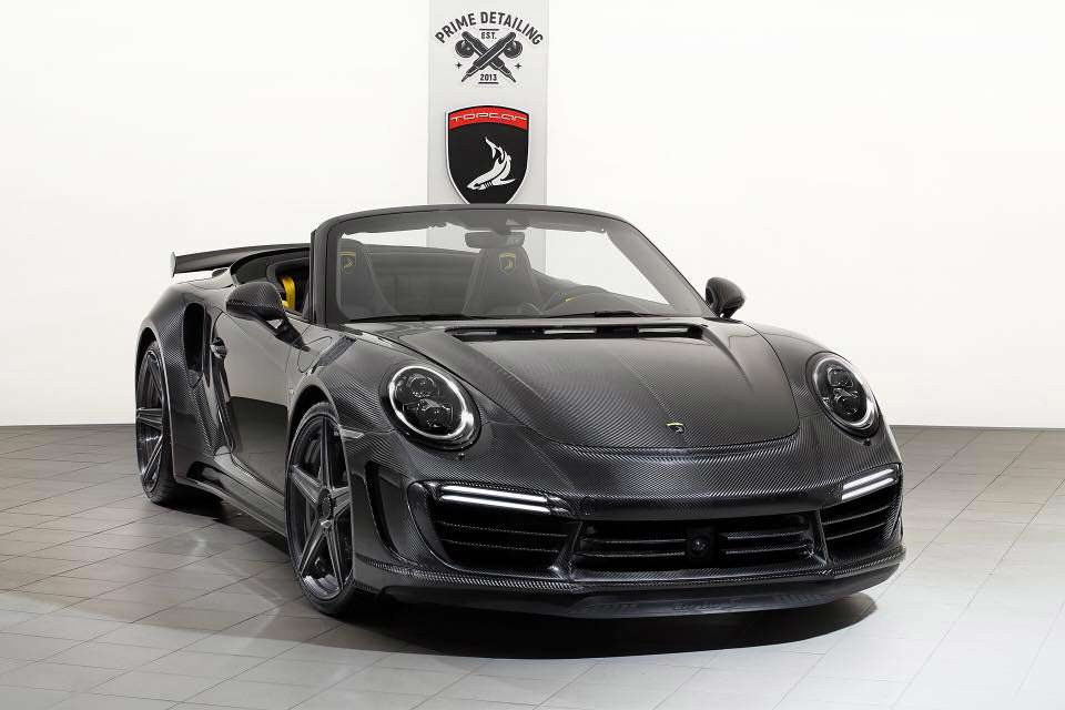 Тюнинг Porsche 911 Stinger GTR Carbon Edition от TopCar