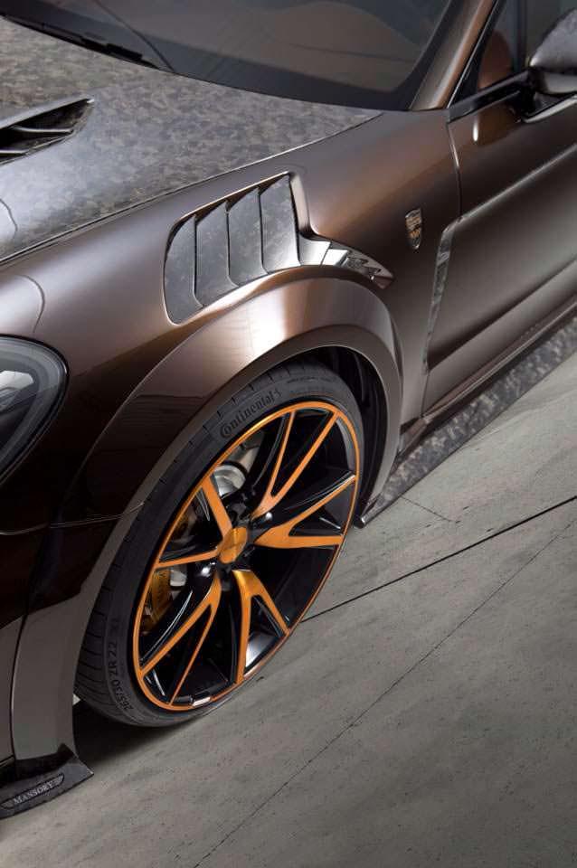 Колёсные диски Porsche Panamera Sport Turismo от Mansory