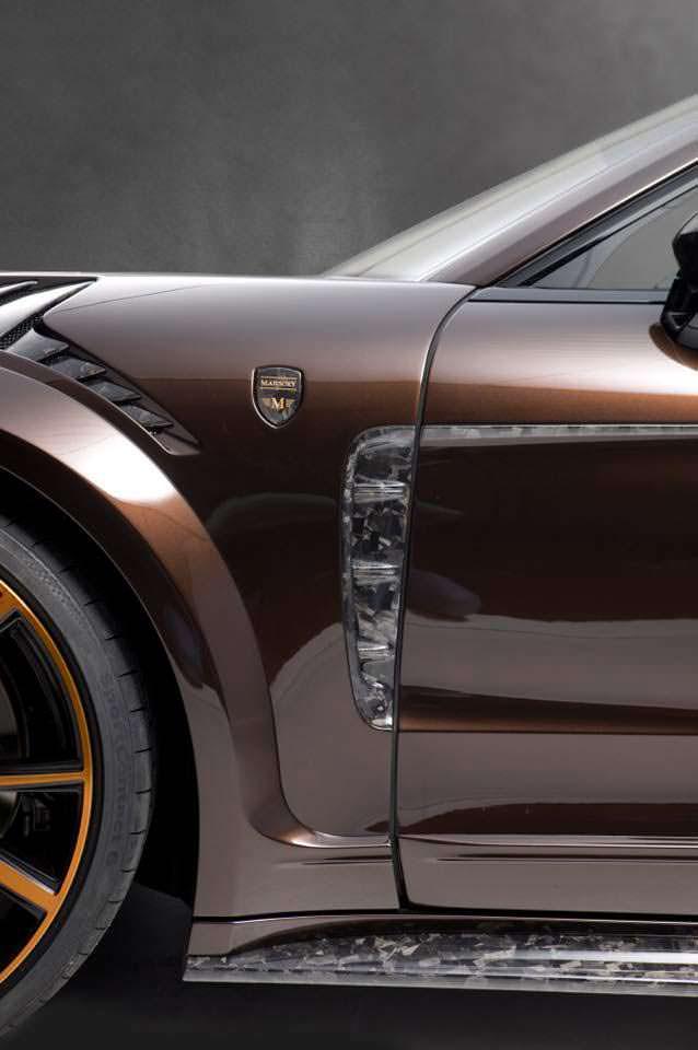 Вентилируемые колесные арки Porsche Panamera Sport Turismo