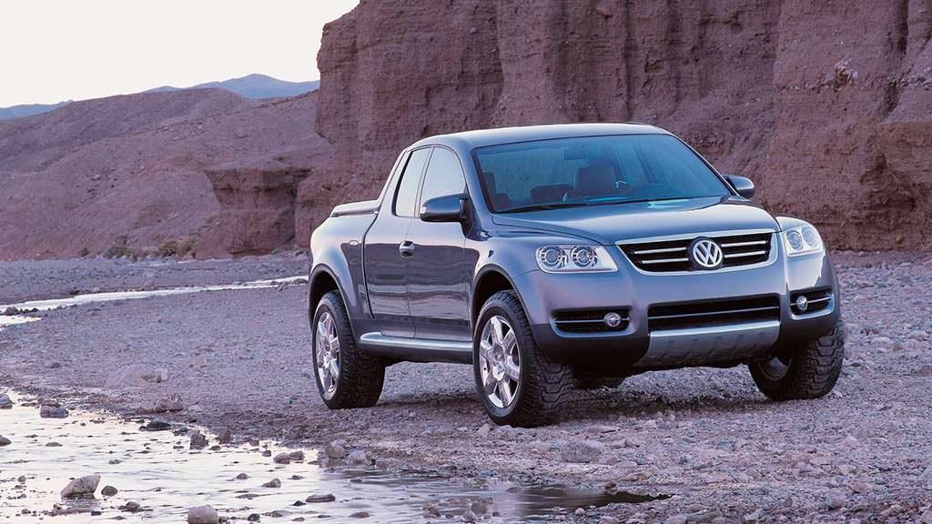 Пикап Volkswagen Advanced Activity Concept 2000 года