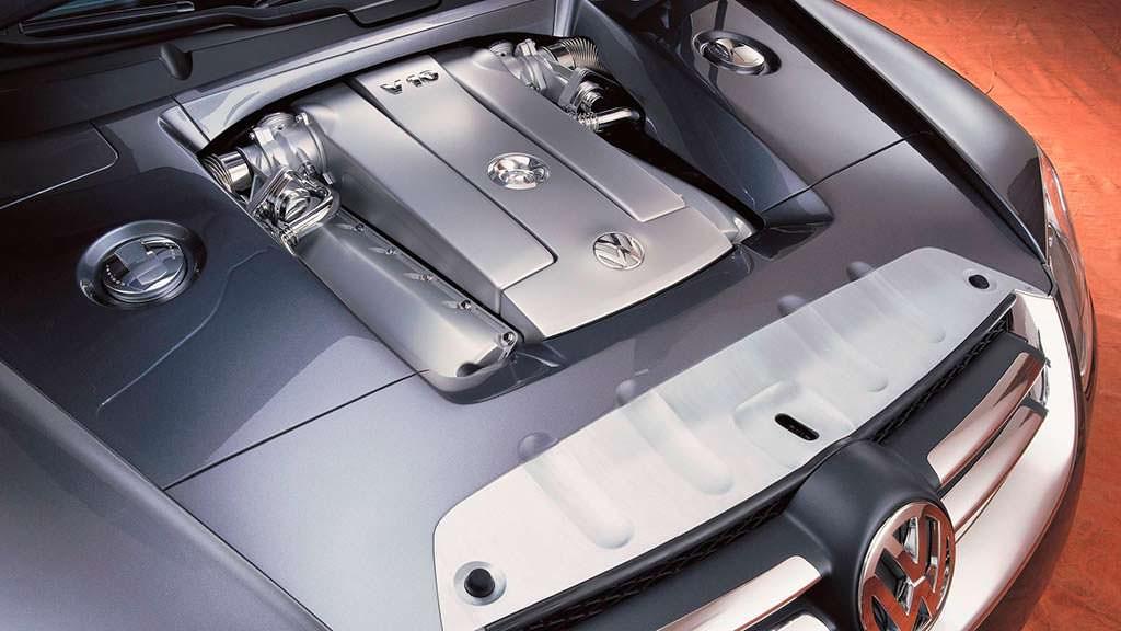 Турбодизель V10 под капотом Volkswagen AAC 2000 года