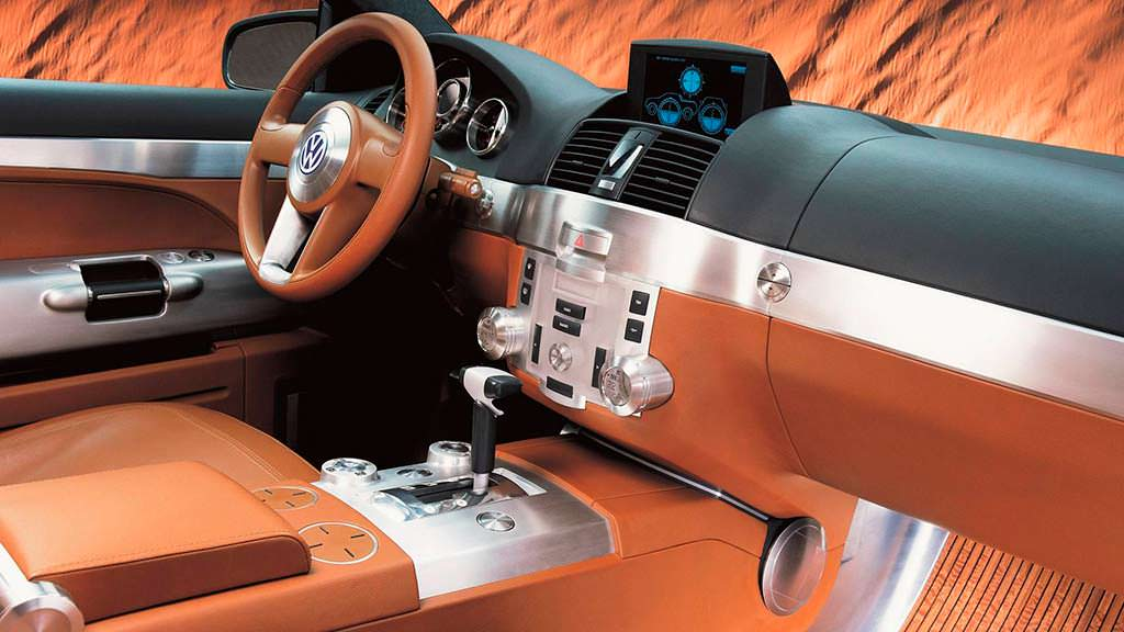 Фото салона Volkswagen AAC 2000 года
