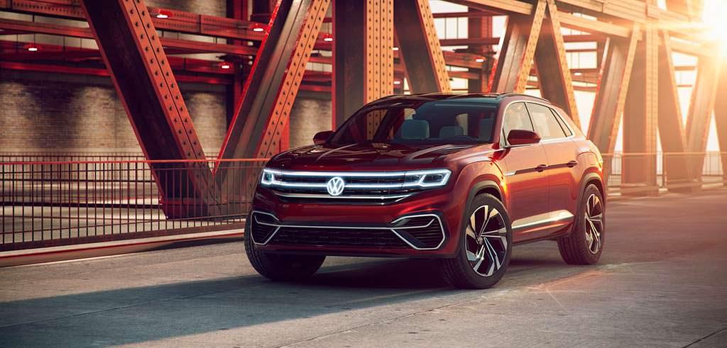 Купе-кроссовер Volkswagen Atlas Cross Sport Concept