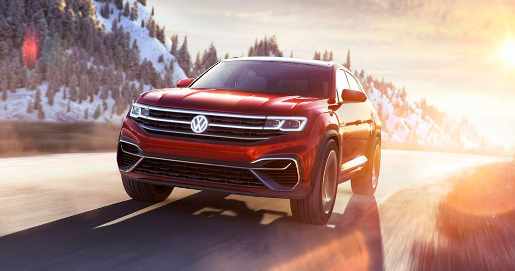 Volkswagen Atlas Cross Sport Concept - будущий ответ BMW X6