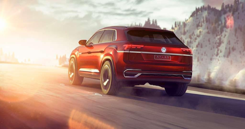 Новый Volkswagen Atlas Cross Sport Concept