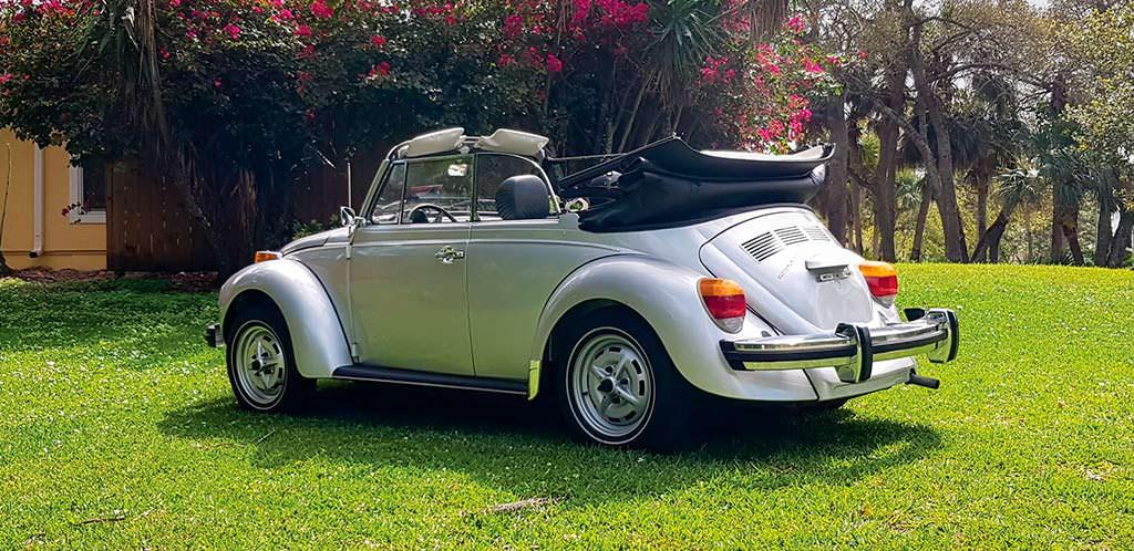 Классический VW Beetle 1979 года по цене нового VW Golf R