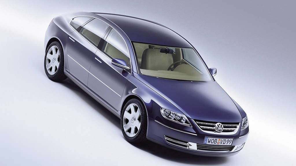 Volkswagen Concept D 1999 года - превью серийного Phaeton