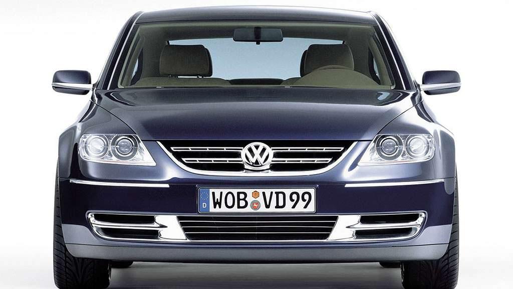 Volkswagen Concept D 1999 года - ответ Porsche Panamera