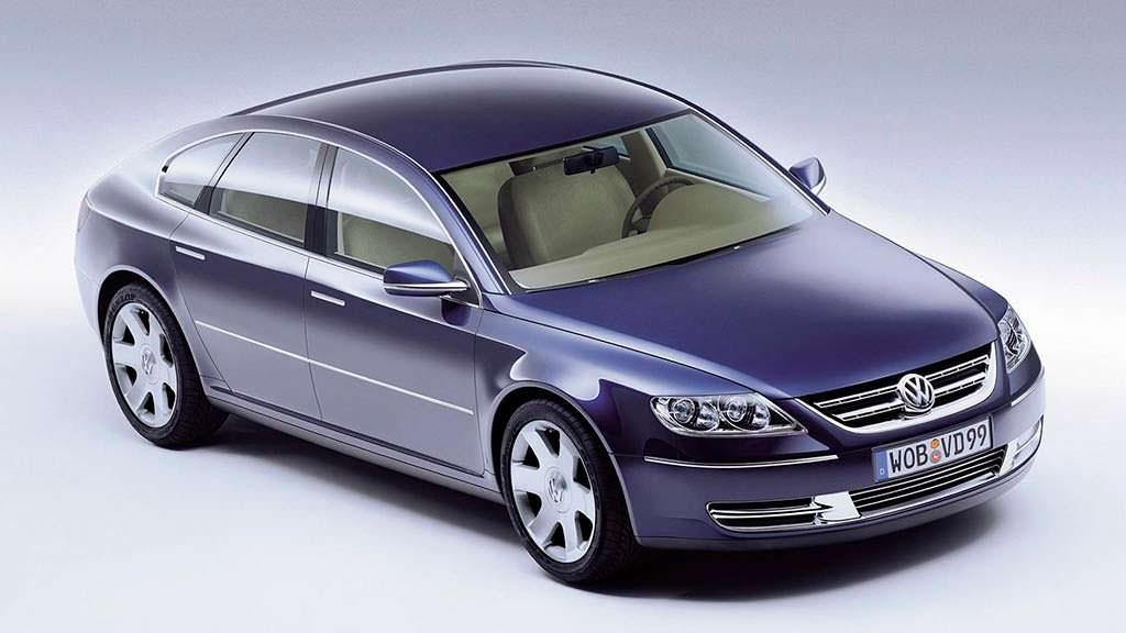 Представительский седан Volkswagen Concept D