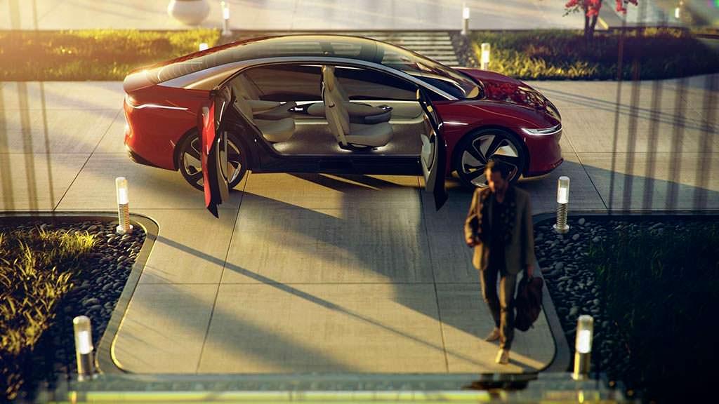 Электромобиль будущего Volkswagen I.D. Vizzion Concept