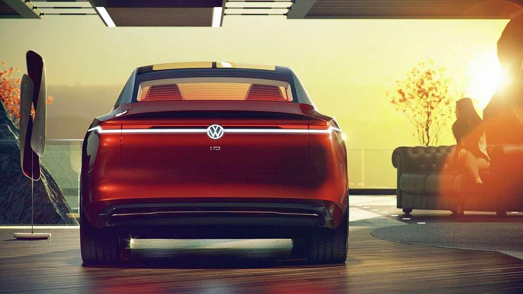Электромобиль Volkswagen I.D. Vizzion Concept