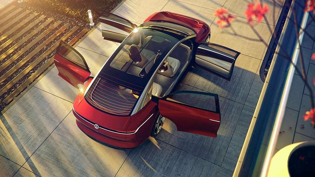 Автомобиль будущего Volkswagen I.D. Vizzion Concept