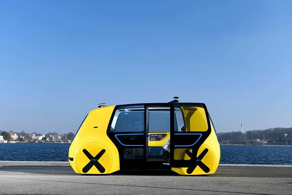 Школьный автобус Volkswagen Sedric School Bus Concept 2018