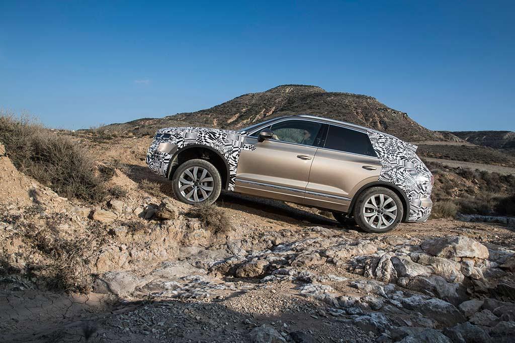 Внедорожные испытания Volkswagen Touareg 2019