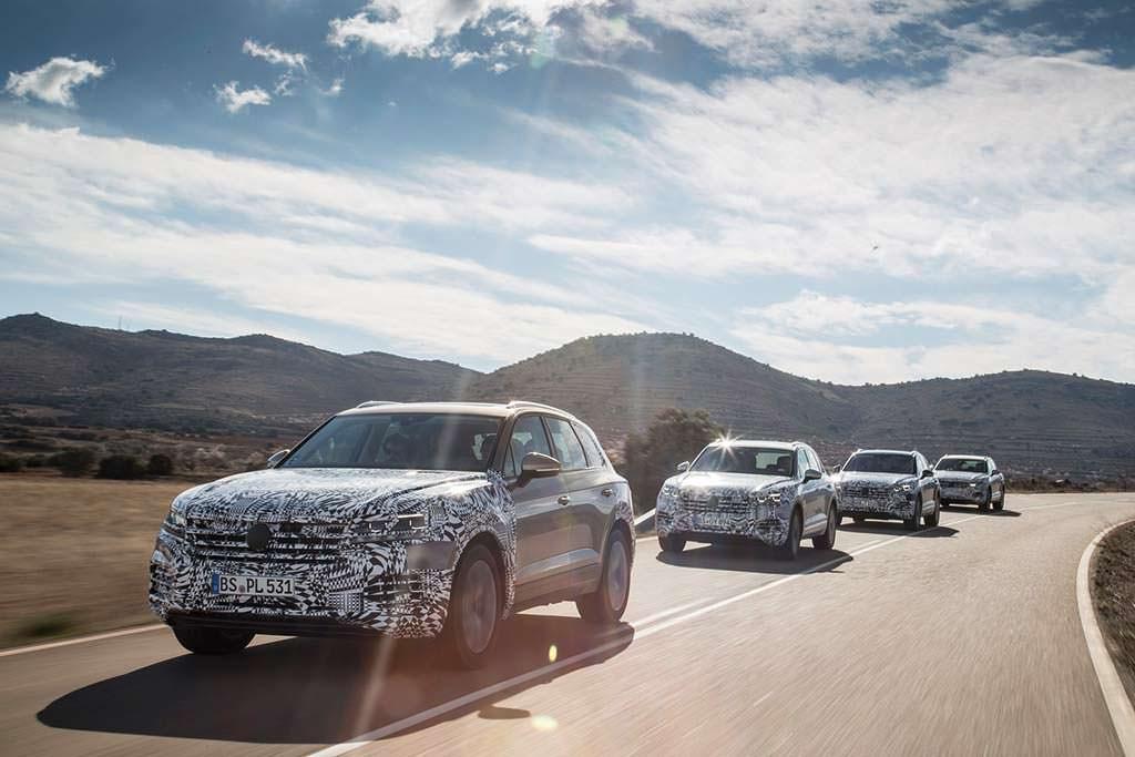 Volkswagen Touareg 2019: пробег около 3 млн км на тестах