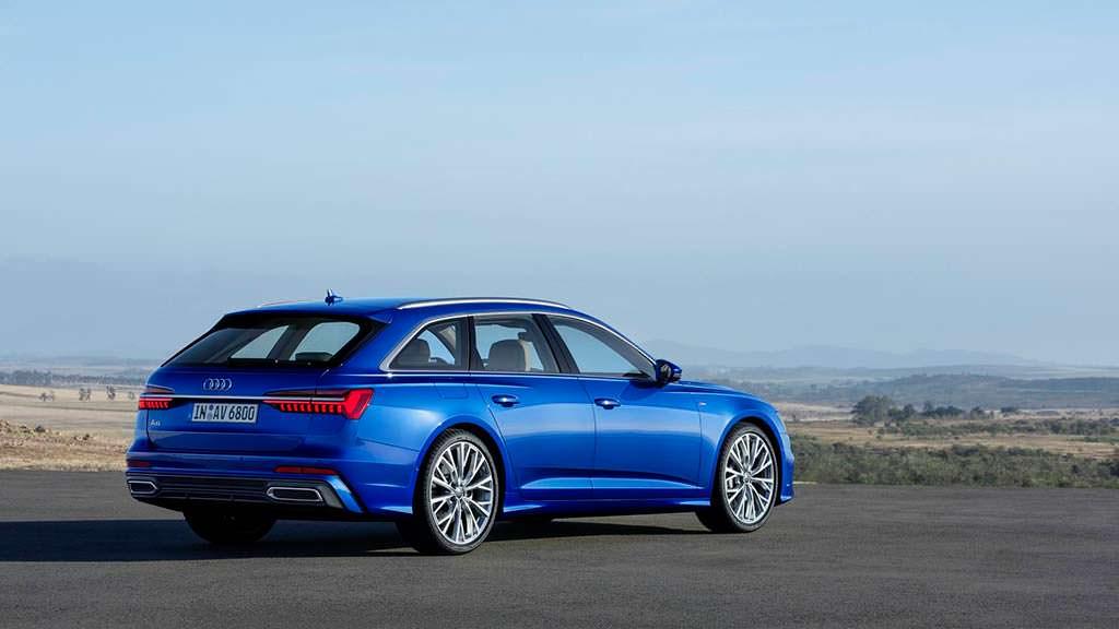 Новая Audi A6 Avant 2019