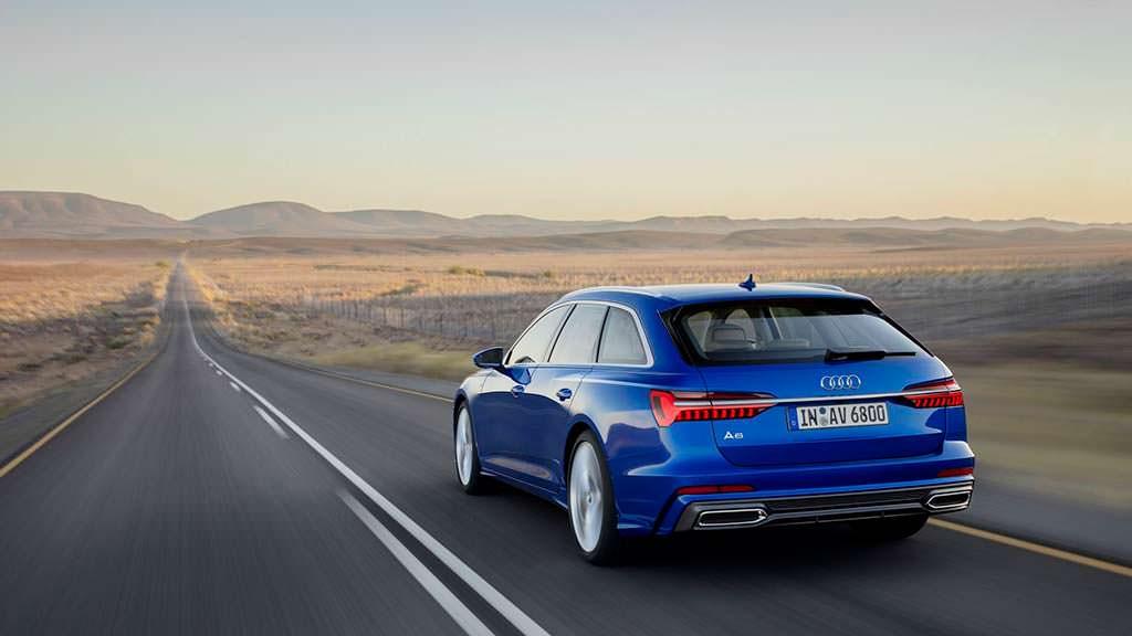 Новое поколение Audi A6 Avant 2019