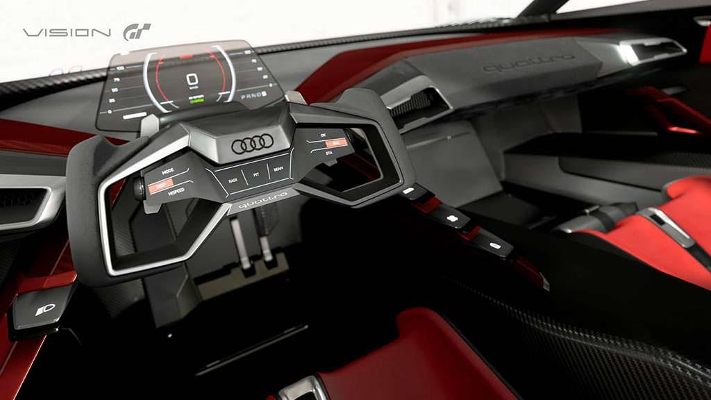 Фото внутри Audi E-Tron Vision Gran Turismo
