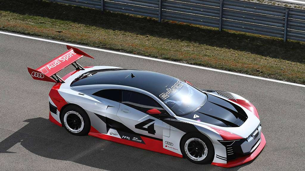 Новая Audi E-Tron Vision Gran Turismo