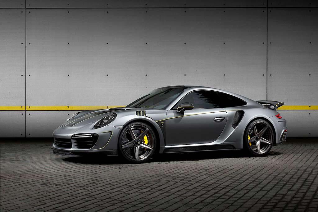 Тюнинг Porsche 911 Turbo Stinger GTR Felix Ferro от TopCar