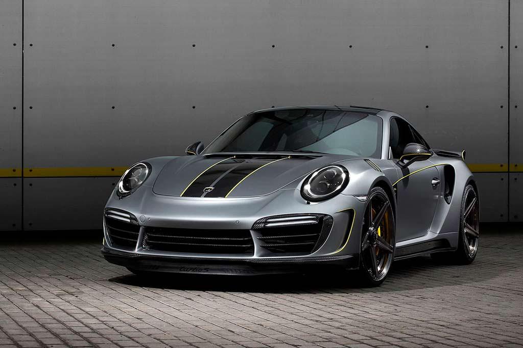 Porsche 911 Turbo Stinger GTR Felix Ferro. Тюнинг TopCar