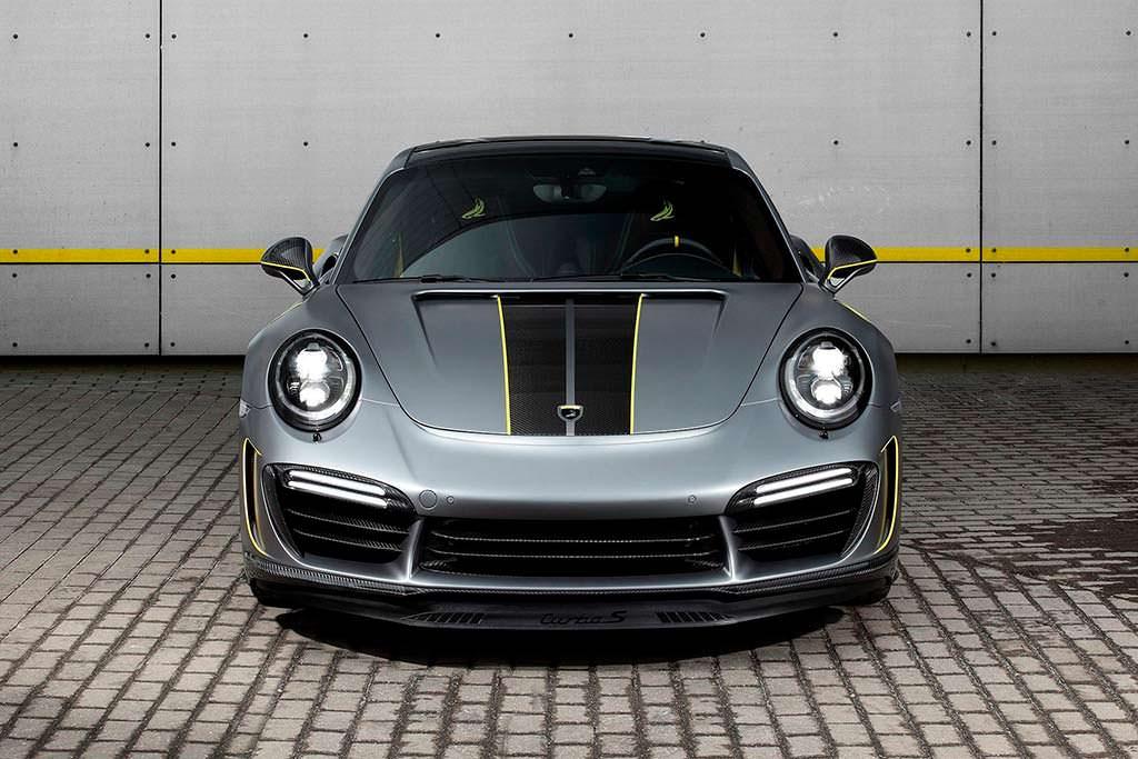 Porsche 911 Turbo Stinger GTR Felix Ferro цвета Frozen Grey