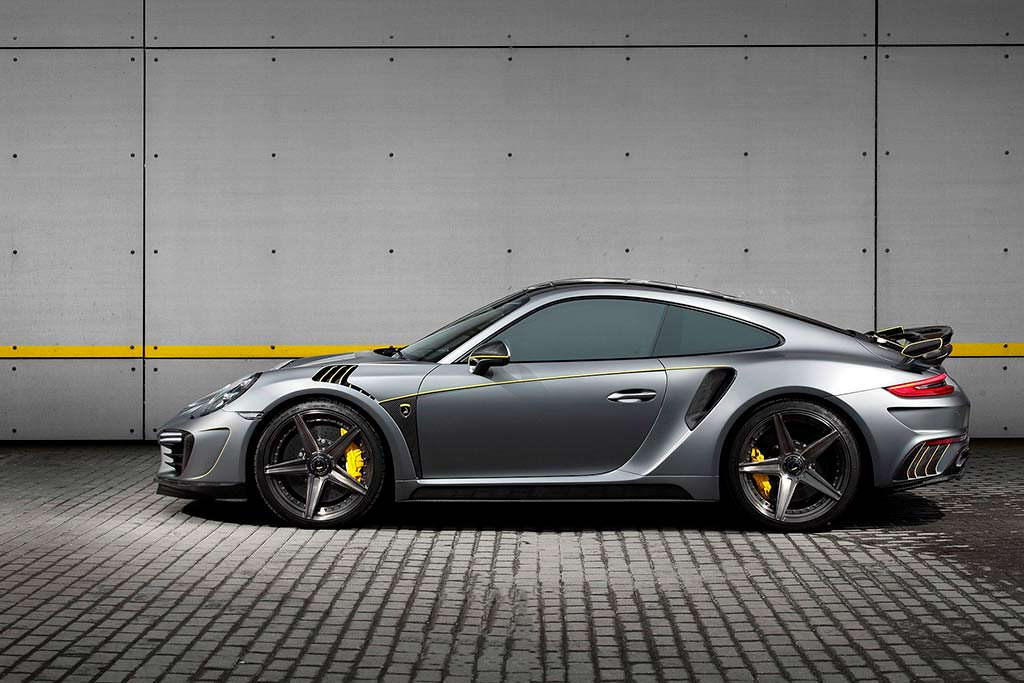 Карбоновый тюнинг Porsche 911 Turbo Stinger GTR Felix Ferro