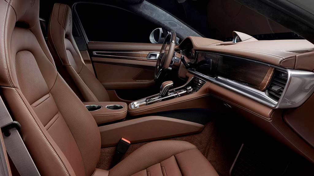 Фото салона Panamera Turbo от Porsche Exclusive Manufaktur