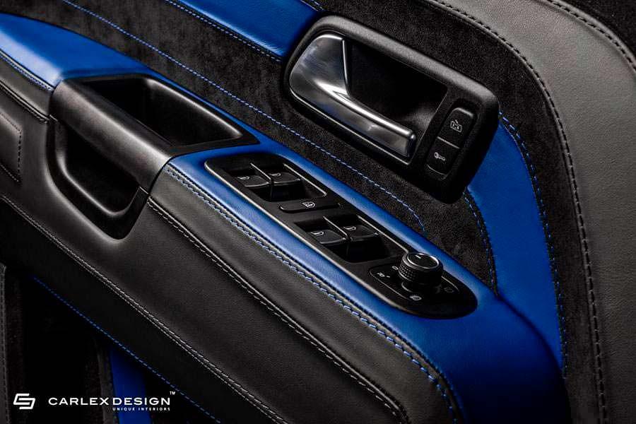 Кожаные карты дверей VW Amarok Aventura от Carlex Design