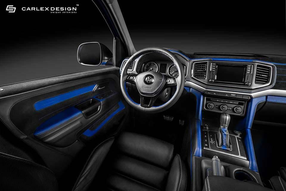 Тюнинг салона VW Amarok Aventura от Carlex Design