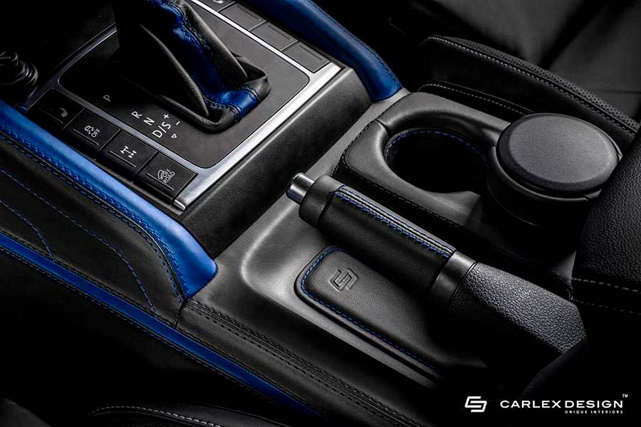 Интерьер VW Amarok Aventura от Carlex Design