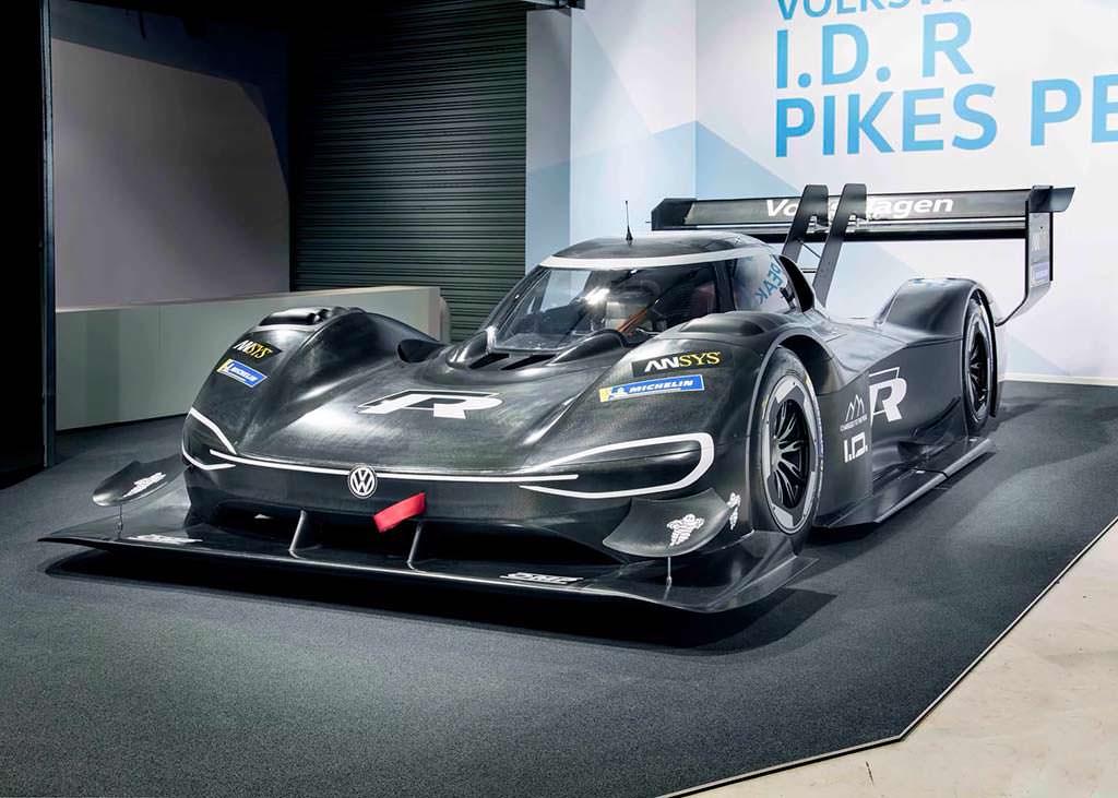 Гоночный электромобиль Volkswagen I.D. R Pikes Peak Racer