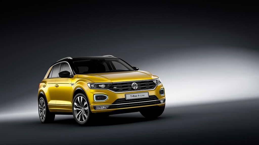 Спортивный Volkswagen T-Roc R-Line