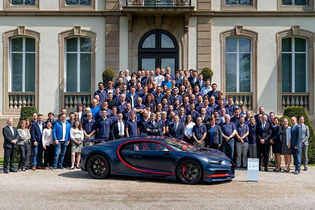 Bugatti Chiron. #100 из 500