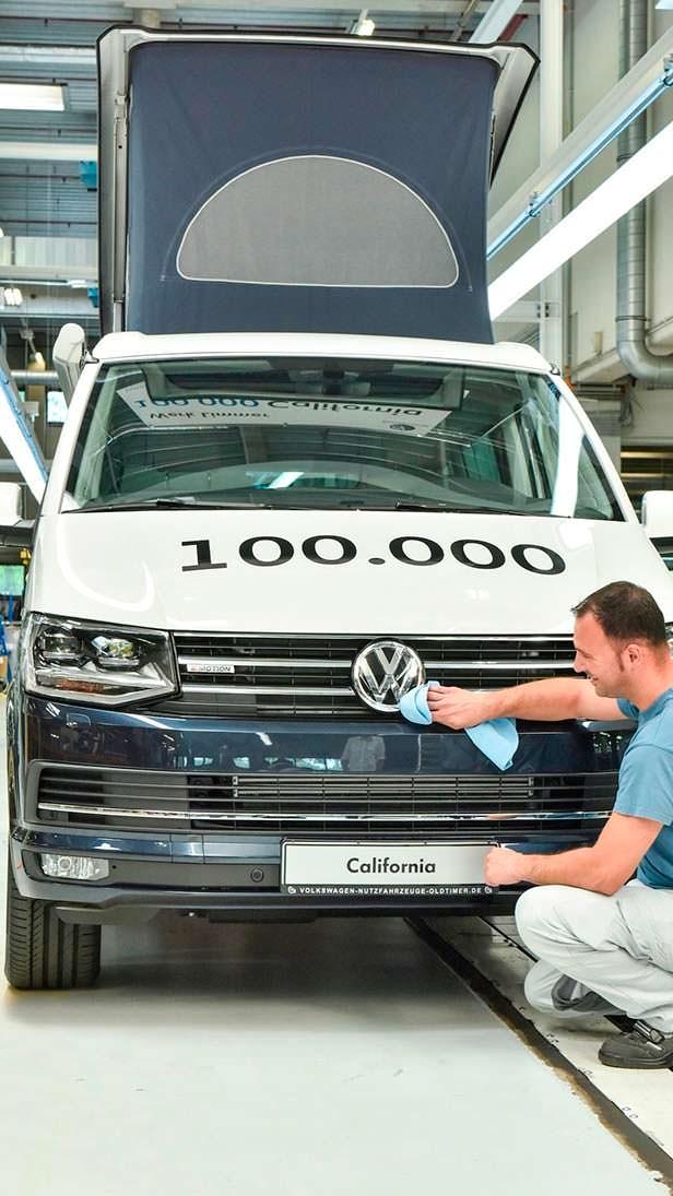 100 000-й кемпер Volkswagen California