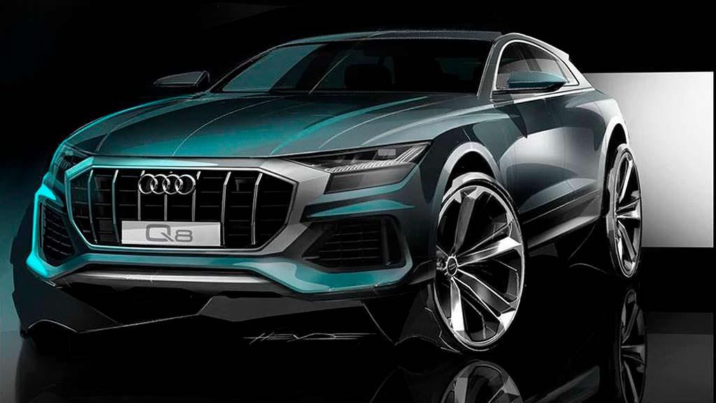 Дизайн Audi Q8