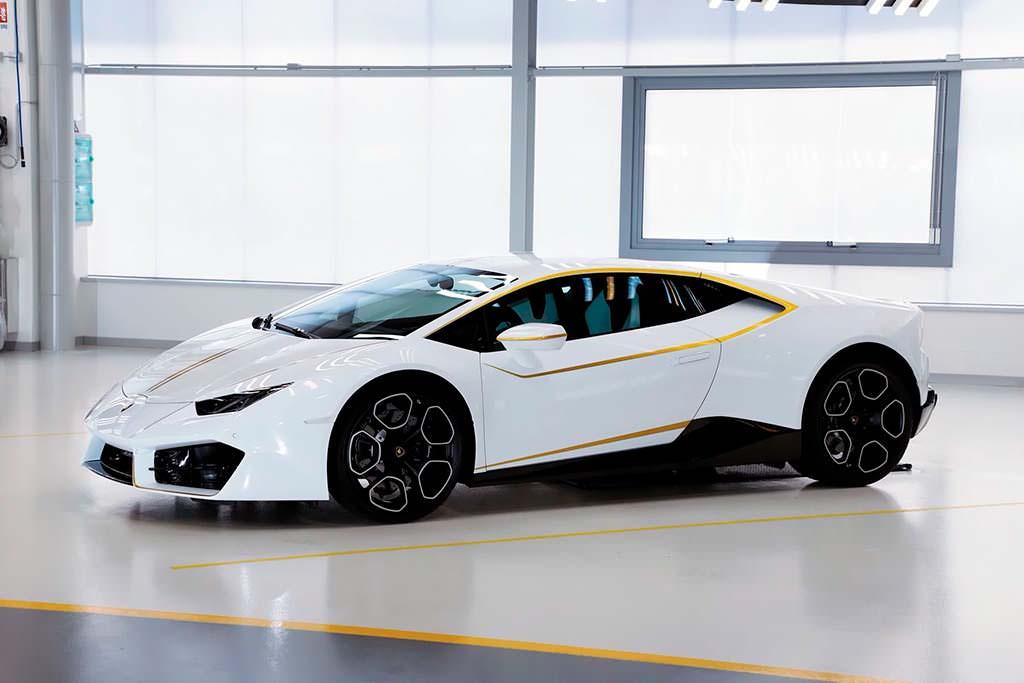 Lamborghini Huracan LP580-2 Папы Римского Франциска
