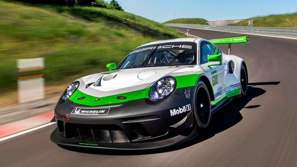 Трековый Porsche 911 GT3 R 2019