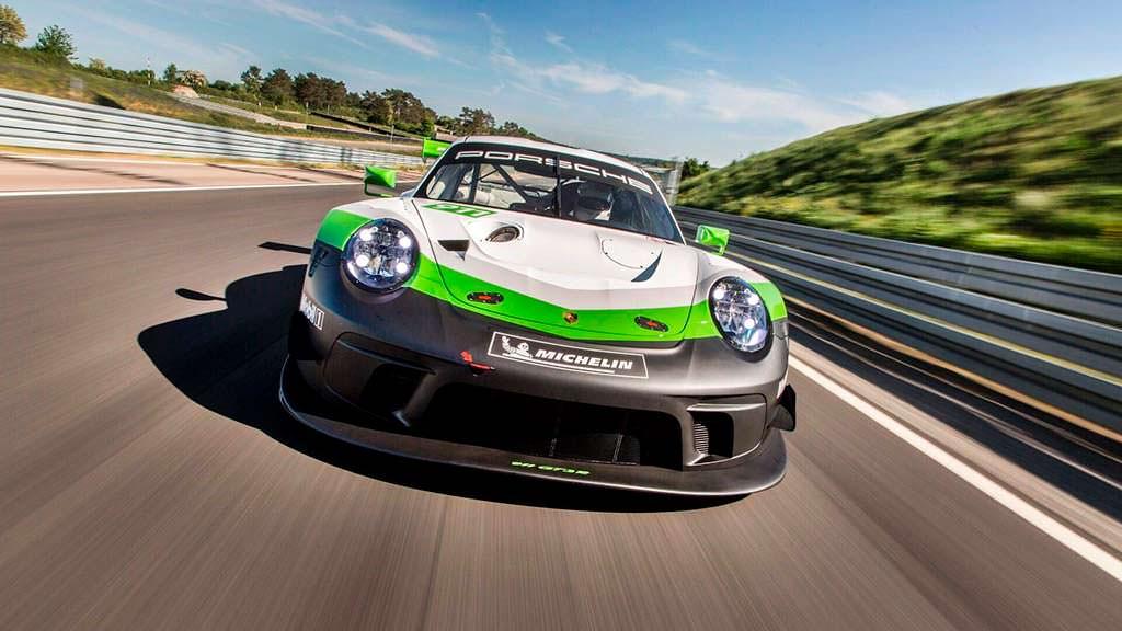 Новый Porsche 911 GT3 R 2019