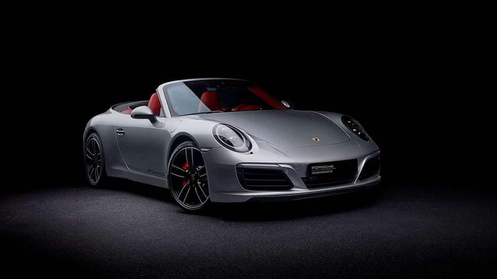Ретро Porsche 911 S Cabrio