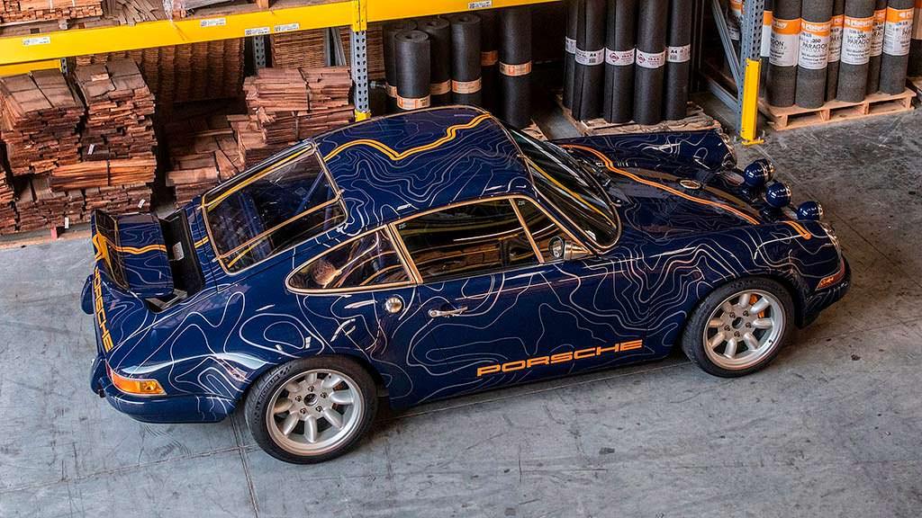Классический Porsche 911 в кузове 964 от Singer