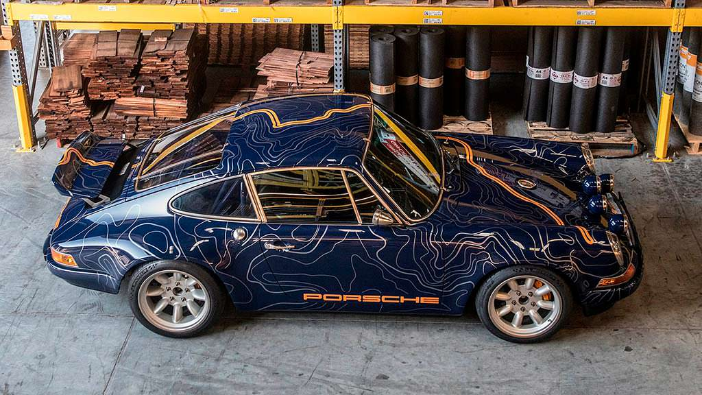 Porsche 911 с каркасом безопасности от Singer