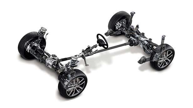 Шасси Volkswagen Golf VII