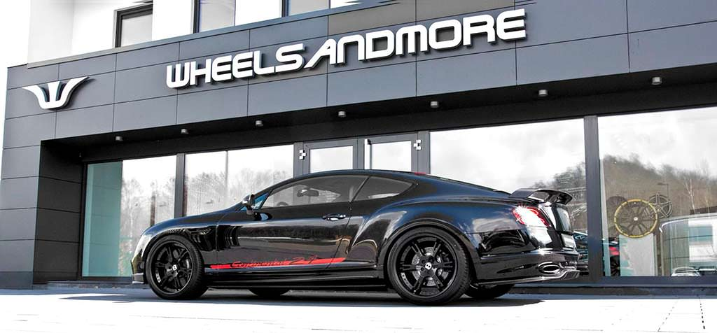 Bentley Continental 24. Тюнинг от Wheelsandmore
