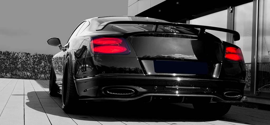Новые выхлопные трубы Bentley Continental 24