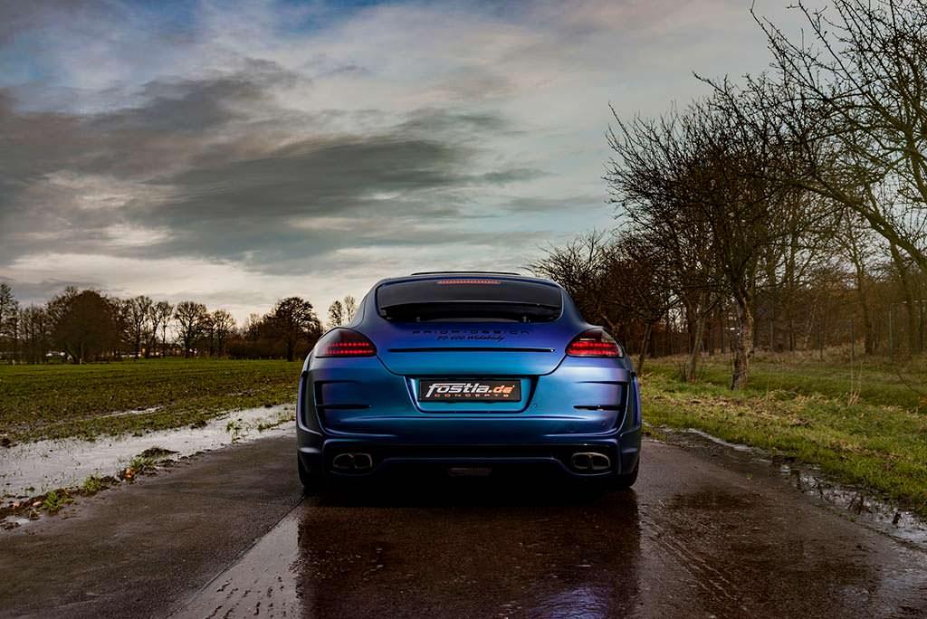 Хамелеон-винил Porsche Panamera от Fostla