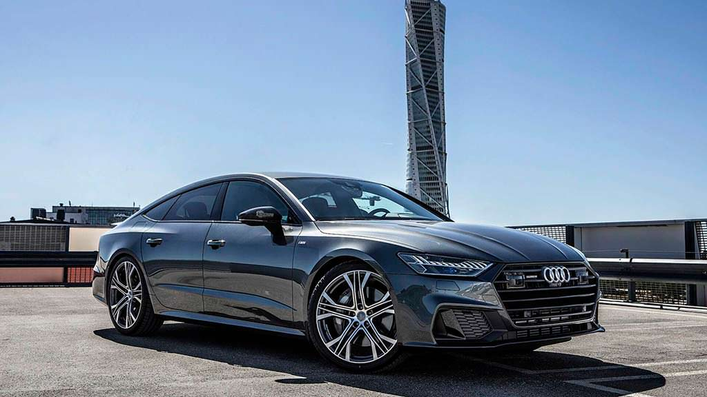 Audi A7 Sportback цвета Daytona Grey от Auditography
