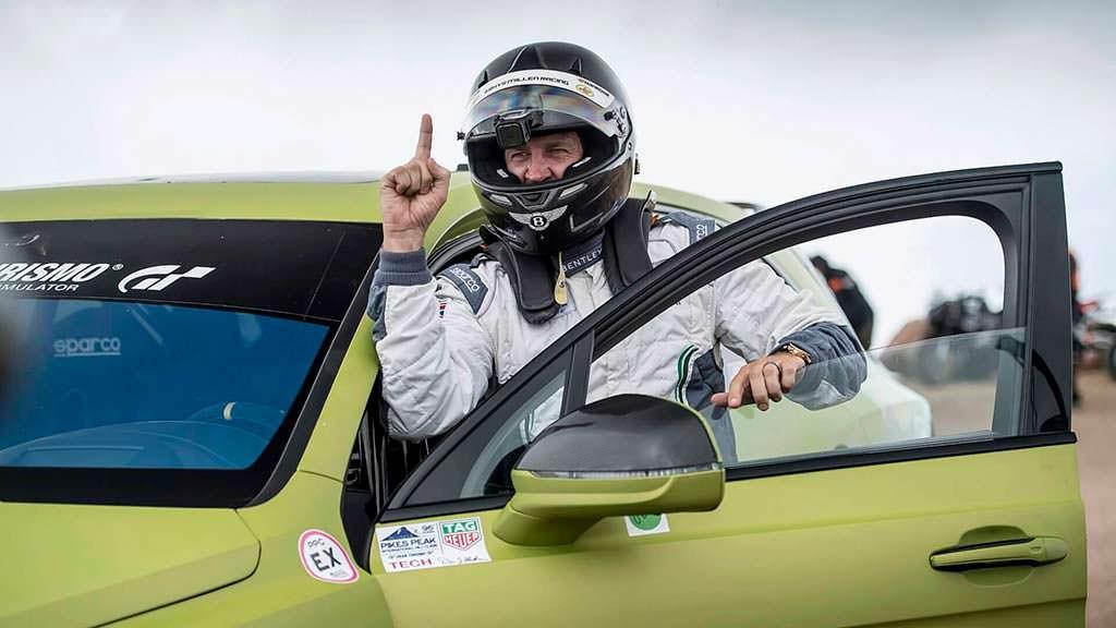 Bentley Bentayga и гонщик Райс Миллен