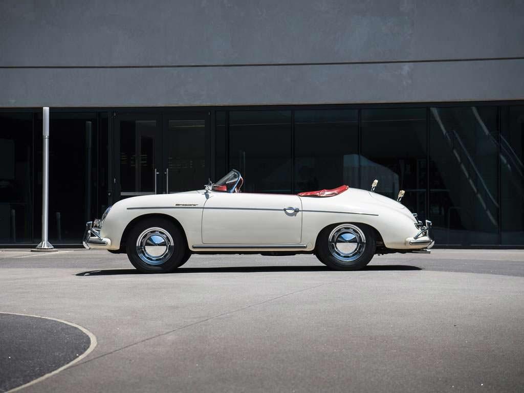 Элегантный родстер Porsche 356 A 1600 Speedster 1956 года