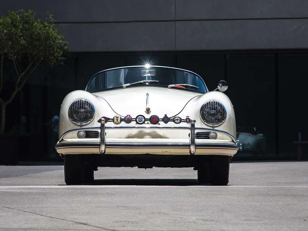 Porsche 356 A 1600 Speedster 1956 года. Один из 645 выпущенных